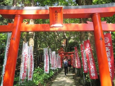太宰府天満宮のパワースポット天開稲荷神社