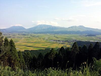 阿蘇の五岳が一望できる絶景展望所