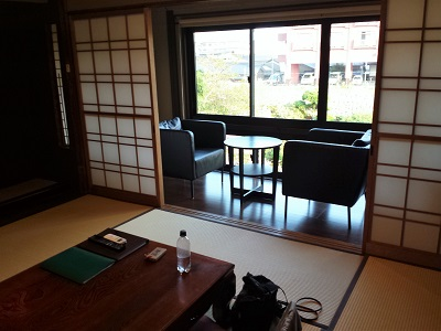 阿蘇内牧温泉の蘇山郷の客室内