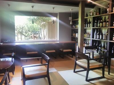 阿蘇内牧温泉の蘇山郷の焼酎バー