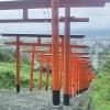 鳥居がたくさんある浮羽稲荷神社