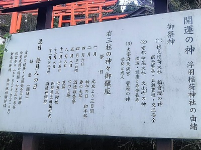 浮羽稲荷神社の御利益