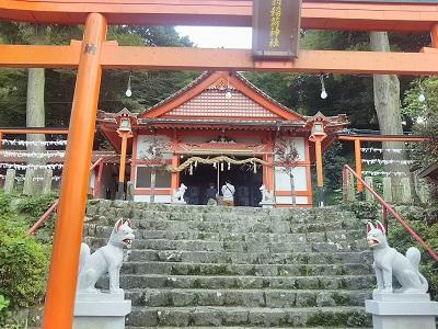 浮羽稲荷神社のお社