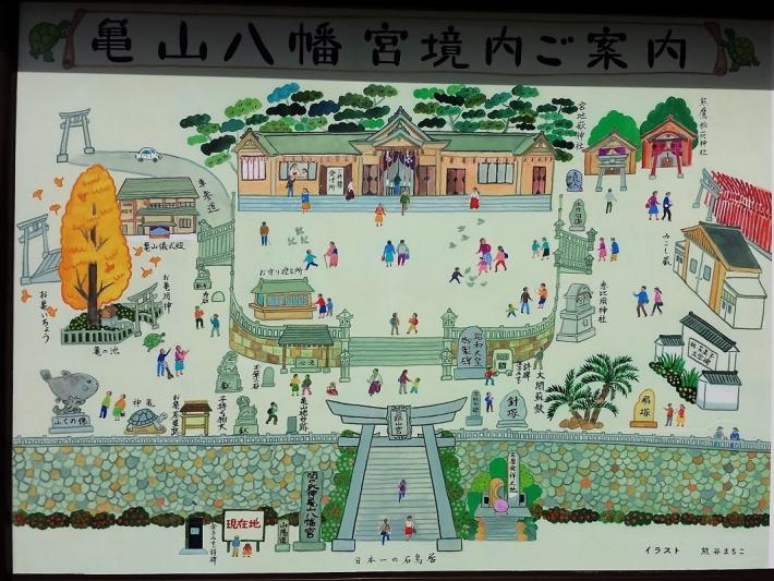 亀山八幡宮の見どころ
