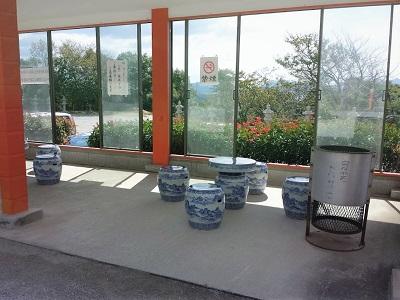 福徳稲荷神社の休憩所