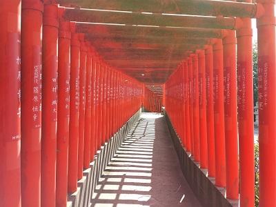 福徳稲荷神社の千本鳥居参道