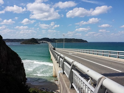 角島大橋の通行料金は無料