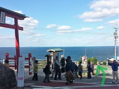 元乃隅神社の参拝順路