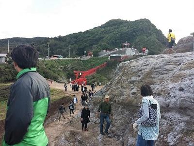 元乃隅神社の海側