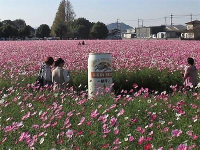 キリンビール福岡コスモス内のオブジェ