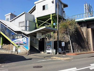 甘木鉄道小郡駅