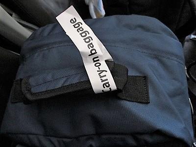 ジェットスターの手荷物OKシール