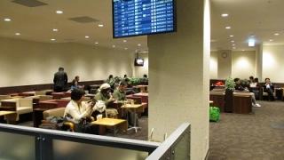 福岡空港国内線「くつろぎのラウンジTIME」の場所