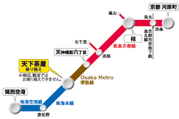 関西空港から京都までの安い行き方