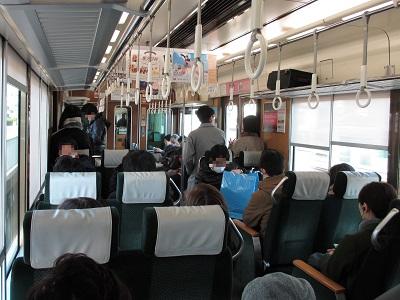 阪急京都本線の特急車内