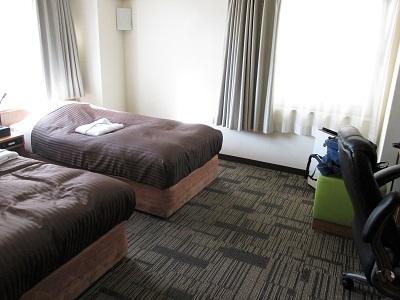 コートホテル京都四条の禁煙デラックスツイン