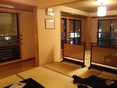 博多湯2階の無料休憩所