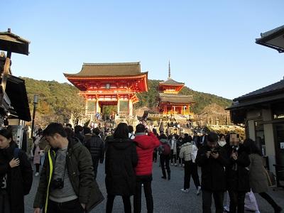 清水寺にアクセス