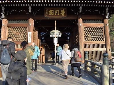 清水寺の轟門と轟橋