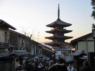八坂の塔(法観寺)の有名な撮影ポイント