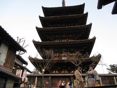 八坂の塔(法観寺)前の撮影スポット