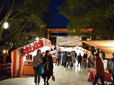 八坂神社の出店・屋台
