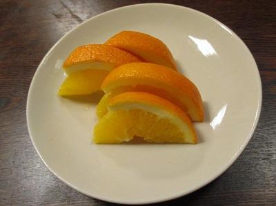 祇園円山かがり火の湯豆腐コースのフルーツ