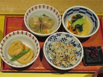 わたしが選んだ京菜味のむらの朝食のおばんざい