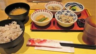 四条烏丸の京菜味のむらの朝食おばんざいセット