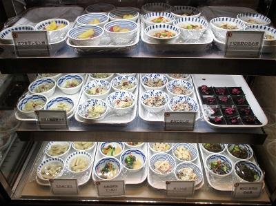 京菜味のむらの冷たいおばんざい