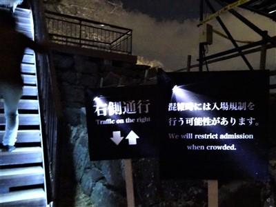 チームラボ福岡城跡光の祭2019-2020の天守台