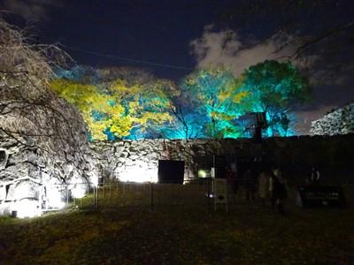 チームラボ福岡城跡光の祭2019-2020の出口