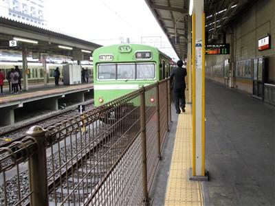 京都駅から宇治駅は奈良線