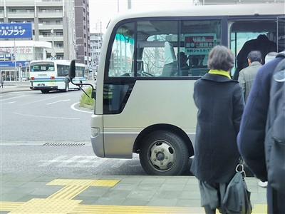 杉能舎(浜地酒造)の酒蔵開きの無料シャトルバス