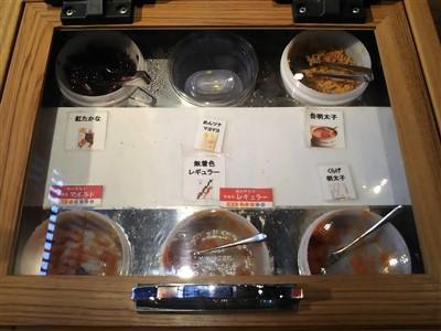 ふくや太宰府店の明太子の試食は6種類