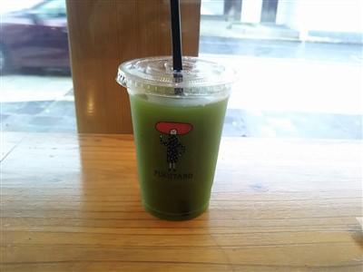 福太郎太宰府店の八女茶