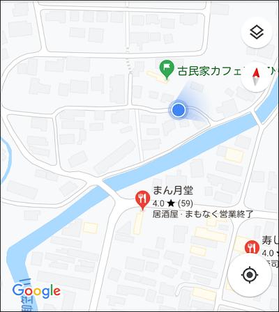 古民家カフェひとひらの地図